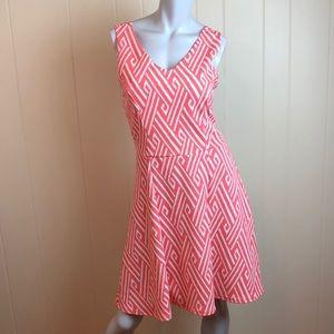 3/$27 Charming Charlie V Neck Fit & Flare Dress